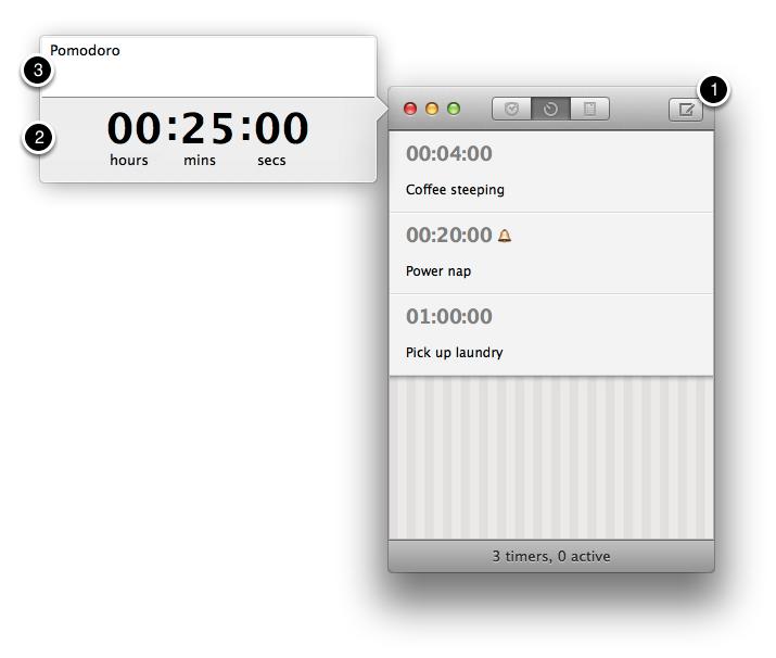 set timer 3 min