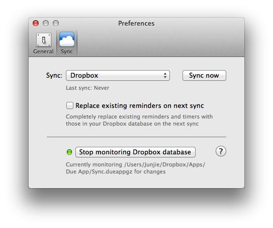 monitor your dropbox folder to sync on changes due for mac help rh dueapp com Install Dropbox for Mac Dropbox Tutorial