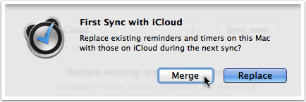 Sync your reminders and timers with your iOS devices — Due