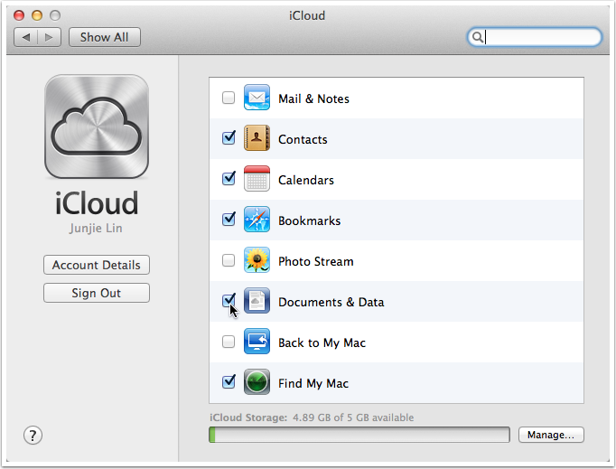 how to sync iPhone contacts to Mac - Step 6